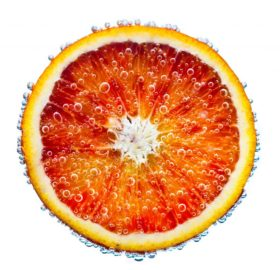fresh red orange